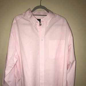 LIKE NEW. Men's Jos. A. Bank Pink Dress Shirt